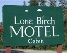 Lone Birch Motel & Cabin
