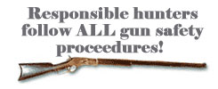 responsible firearms use sign